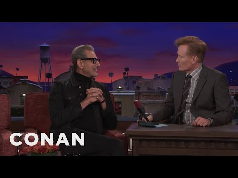 Jeff Goldblum Loves Jeff Goldblum Impressions  - CONAN on TBS