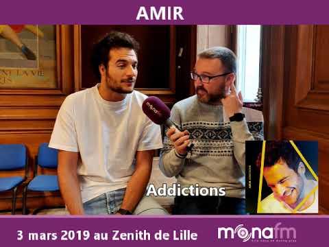 Amir parle sur Mona FM