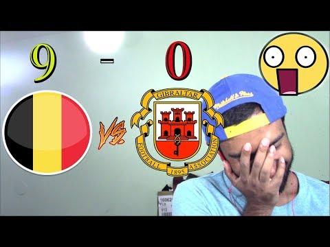 Belgium vs Gibraltar 9-0 - Goals & Highlights - World Cup Qualifiers 31.08.2017 HD(REACTION)