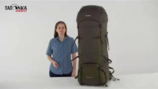 Классический туристический рюкзак большого объема Tatonka Jasper 90+15