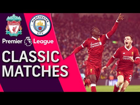 Liverpool V. Man City | PREMIER LEAGUE CLASSIC MATCH | 1/14/18 | NBC Sports