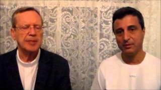 Bispo e Padre na TV Portal Dores de Campos