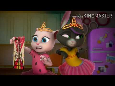 Talking Tom And Friends: Roommate War Episode But Only Talking Becca Seen