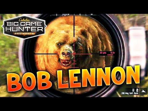 ON VA CHASSER L'CARIBOU !!! - Big Game Hunter avec Bob Lennon