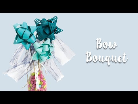 How to Make a Bow Bouquet!