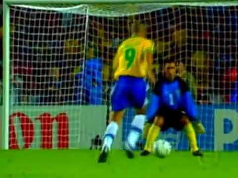Brasil e Chile Oitavas de Final da Copa do Mundo de 1998 na França ( Narração Galvão Bueno)