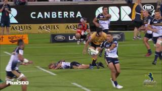 Brumbies v Force Rd.3 Super Rugby Video Highlights 2017