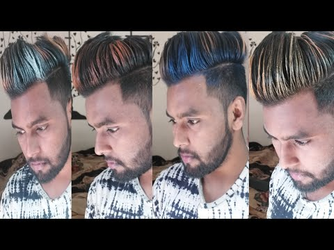 Get INSTANT Hair Color wax  Men Deserve Hair Color wax Review  Blue,silver,copper,gold color wax