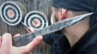 Video NO SPIN Knife Throwing Tutorial (For Beginners/Advanced) By World Champion Adam Celadin MP3, 3GP, MP4, WEBM, AVI, FLV Maret 2019