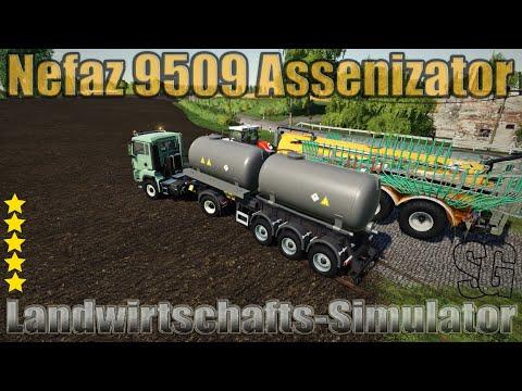 Nefaz 9509 Assenizator v1.0.0.0