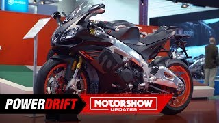 9. 2019 Aprilia RSV4 RR : Is it even hotter now? : Intermot 2018 : PowerDrift
