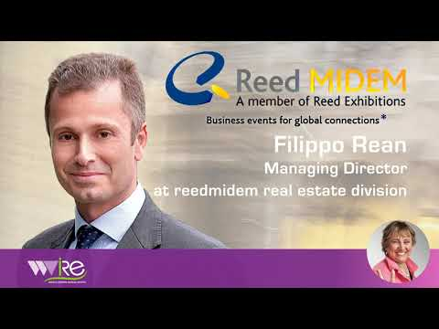 Filippo REAN Managing Director – Real Estate Division, @ Reed MIDEM au MIPIM URBAN FORUM 2020
