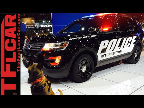 2016 Ford Police Interceptor Utility: Everything You Ever Wanted to Know