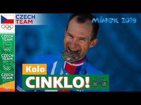 Sám proti času. Cyklistická medaile z Evropských her!