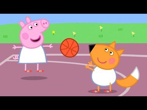 Peppa Pig en Español Episodios completos  BALONCESTO  Pepa la cerdita