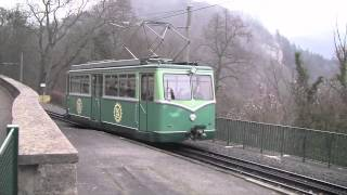 Konigswinter Germany  city photo : The Drachenfels Railway, Königswinter, Germany - 29th January 2012
