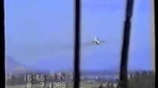 Аварийная посадка АН 12 бортовой номер 11875 на Камрани 08 07 1989г