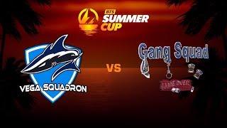 Vega Squadron против Gang Squad, Первая карта, BTS Summer Cup