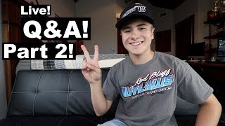 Q&A Live Part 2!