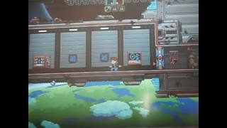 Part 1 of Starbound.Pets in a ship.