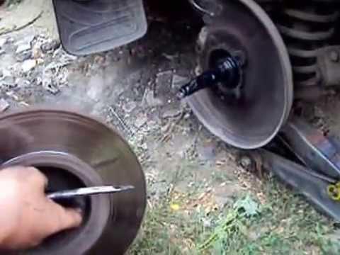 Замена подшипников ступицы ваз 2106 своими руками