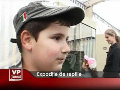 Expoziţie de reptile
