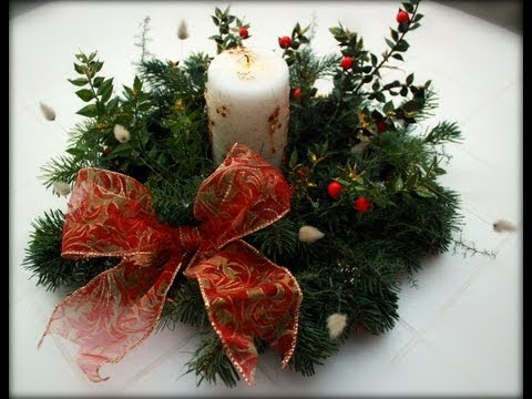 fai da te - centrotavola natalizio