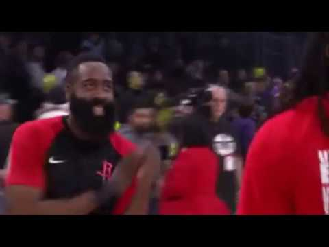 Houston Rockets Old Town Road dancing