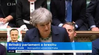 Britský parlament napotřetí odmítl brexitovou dohodu