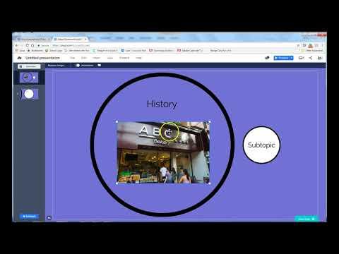 How to Create a Presentation using Prezi Next