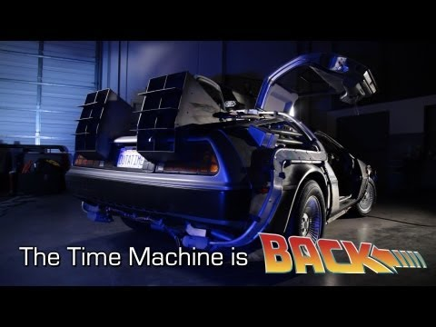 """Back To The Future"" DeLorean Time Machine Restored"