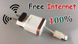 Video New Free Internet 100% Work -  How to Get Free WiFi 2019 MP3, 3GP, MP4, WEBM, AVI, FLV Juni 2019