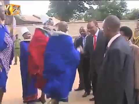 Uhuru, Raila attending parallel cultural ceremonies in Kajiado county