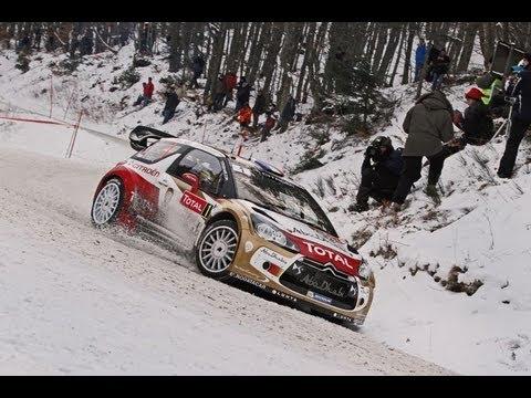 Citroën WRC 2013 - Rallye Monte-Carlo - Day 1