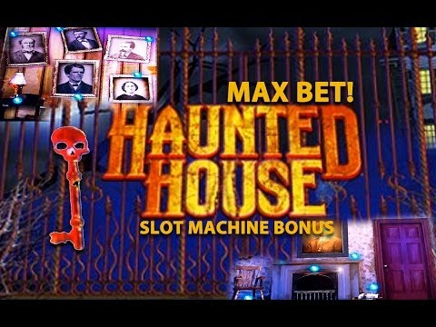 MAX BET! Haunted House – Slot Machine Bonus (Nice Win)