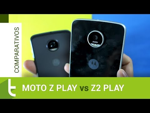 Comparativo: Moto Z Play vs Moto Z2 Play  Review do TudoCelular