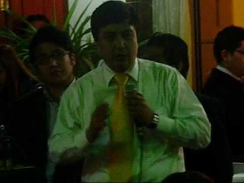 Juramentó Manuel Arana como Secretario General del Apra en Pueblo Libre