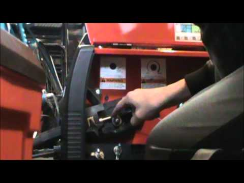 How To Install Wire Into A Lincoln Electric Work-Pak 125