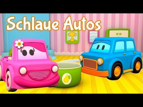 Lern auf dem Schlaue Autos Spielplatz. Zeichentrickfilme für Kinder (видео)