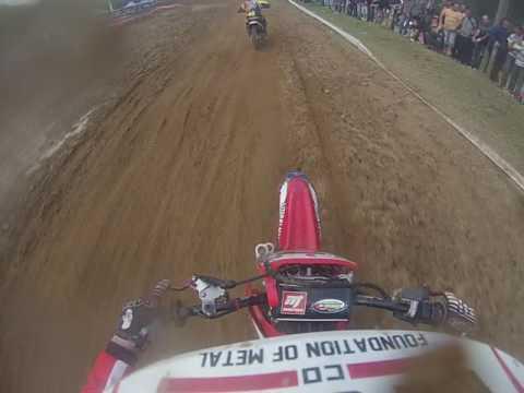 Cassio Anacleto #2 GoPro - Copa Grillo Motocross 2012 - Sertão dos Corrêas SC