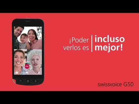Teléfono Móvil Pantalla Táctil - Swissvoice G50