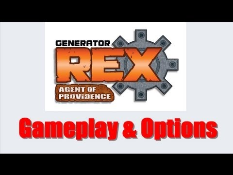 Generator Rex Agent Of Providence Nintendo 3DS Gameplay and Options ++ NICE ++