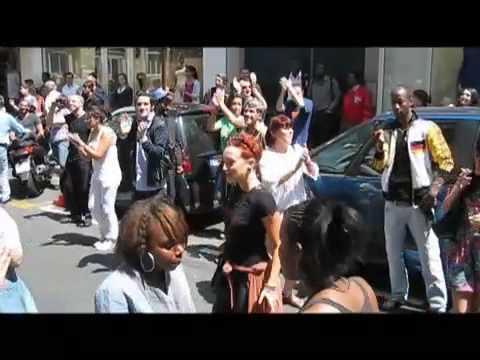 Hommage Dansant à Michael Jackson rue d'hauteville / Dancing tribute to MJ
