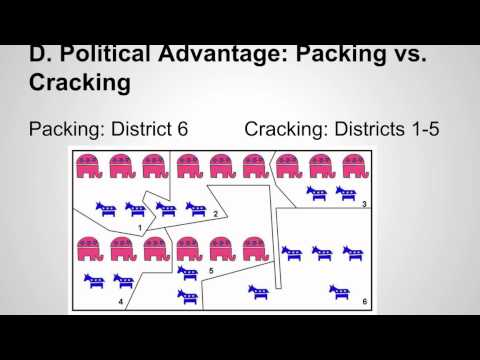 Government: The Politics of Drawing Congressional Districts