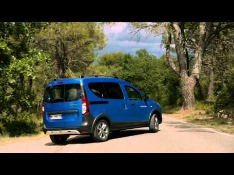 Dacia Dokker Stepway driving footage