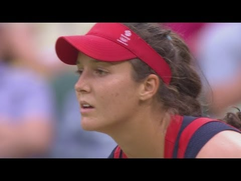 Tennis Women's Singles Second Round – GBR v RUS Full Replay — London 2012 Olympic Games