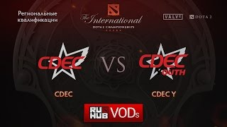 CDEC vs CDEC.Y, game 1
