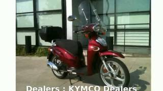 8. 2007 KYMCO People 150  motorbike Info