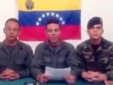 Militares desconocen la autoridad de Maduro y de los altos mandos de las fuerzas