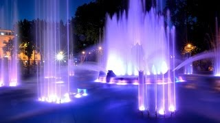 Beautiful fountains of the world Красивые фонтаны мира YouTubeFotoVideo